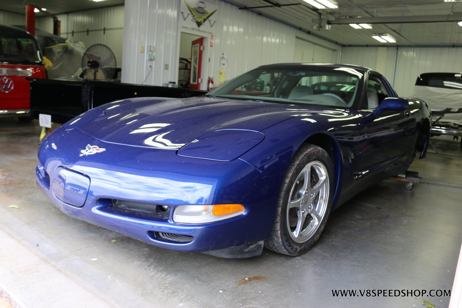 2004 Chevrolet Corvette Repair at V8 Speed & Resto Shop