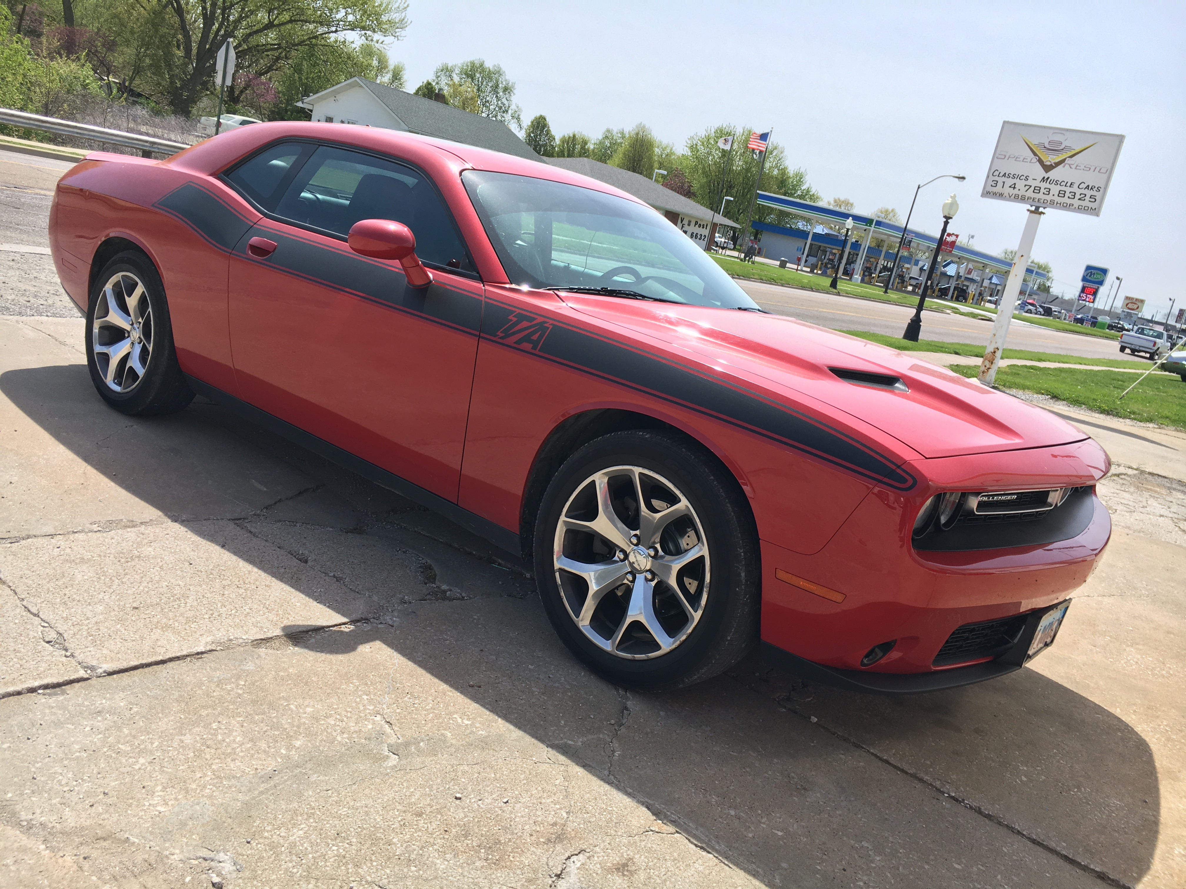2015 Dodge Challenger SXT Performance Tuning at V8 Speed & Resto Shop