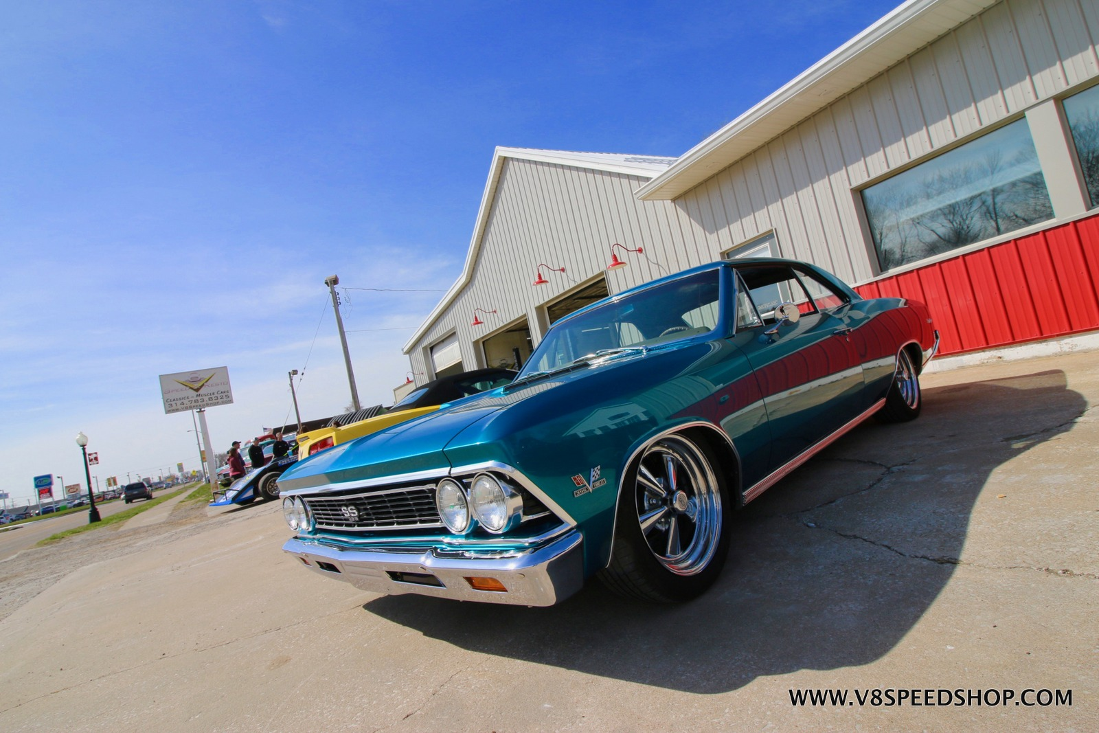 "Photos From The 2019 V8 Speed and Resto Shop ""Dust Off"" Spring Open House"