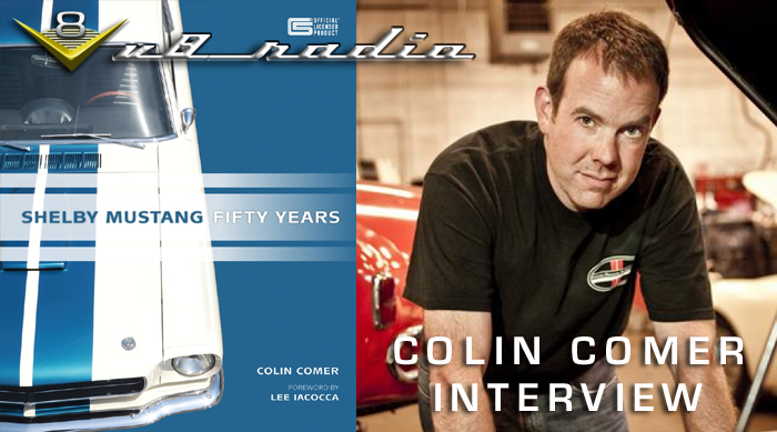 Colin Comer V8 Radio Interview