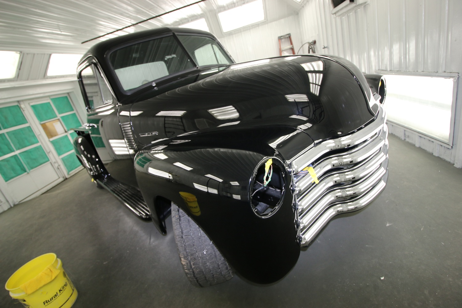 Back In Black At The V8 Speed & Resto Shop