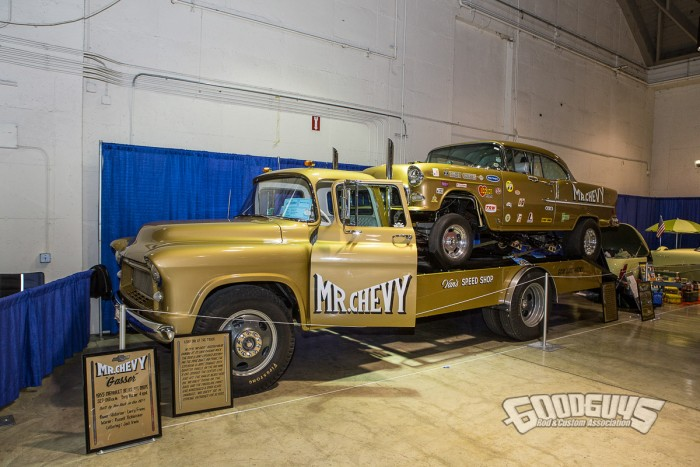 Mr. Chevy at 2017 Grand National Roadster Show