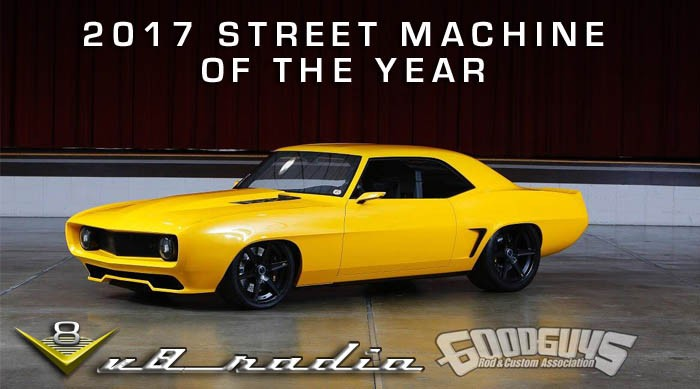 2017 Street Machine Of The Year - V8 Radio