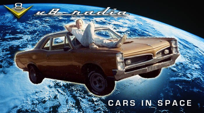 V8 Radio Cars In Space