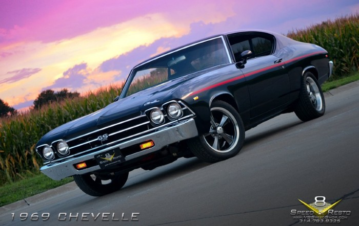1969 Chevelle by V8 Speed & Resto Shop