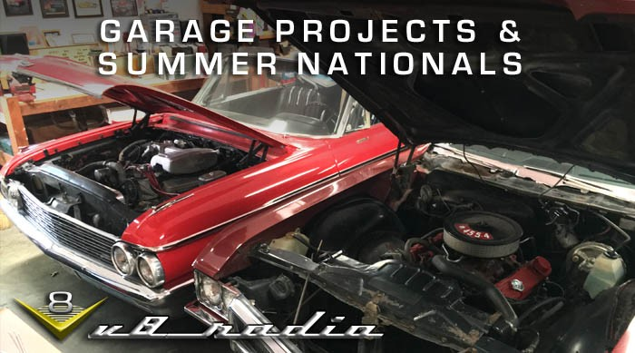 V8 Radio Garage Projects