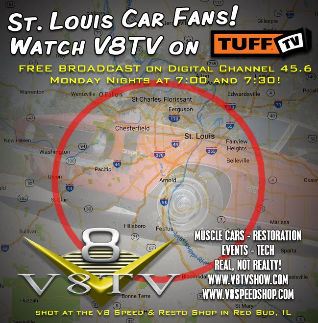 V8TV on TUFF TV in St. Louis