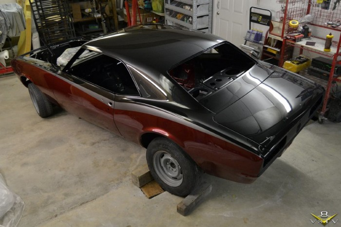 1967 Camaro Body and Paint Restoration