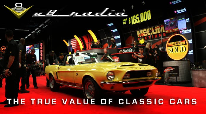 The true value of classic cars on V8 Radio
