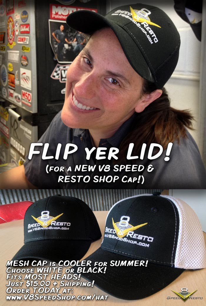V8 Speed & Resto Mesh Hat