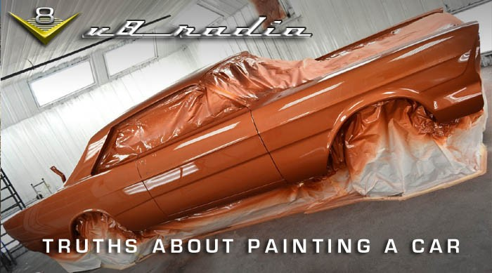 V8 Radio Car Paint