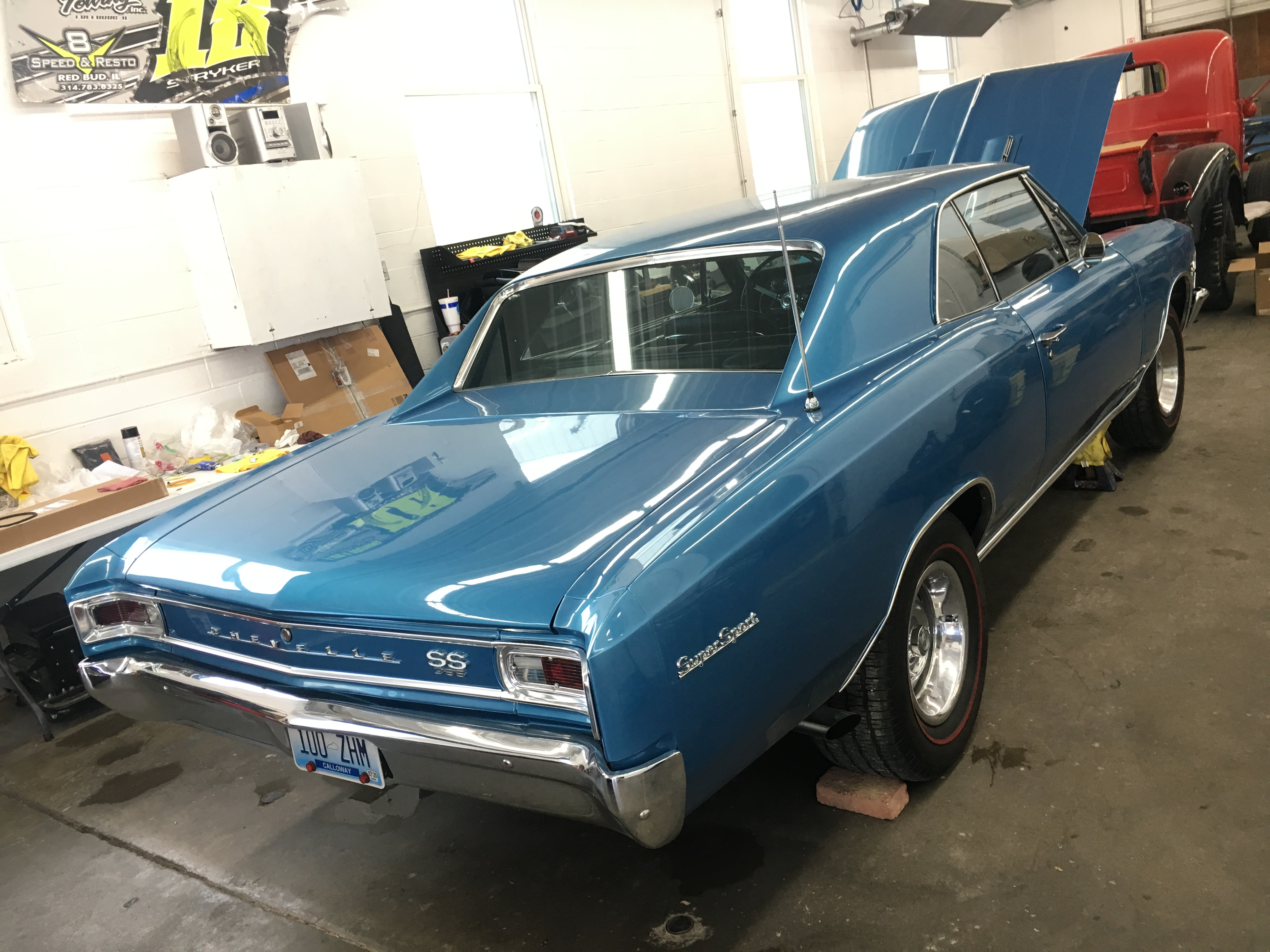 1966 Chevrolet Chevelle Mechanical Repairs at V8 Speed and Resto Shop