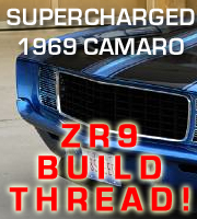 1969 Camaro ZR9 Build Thread