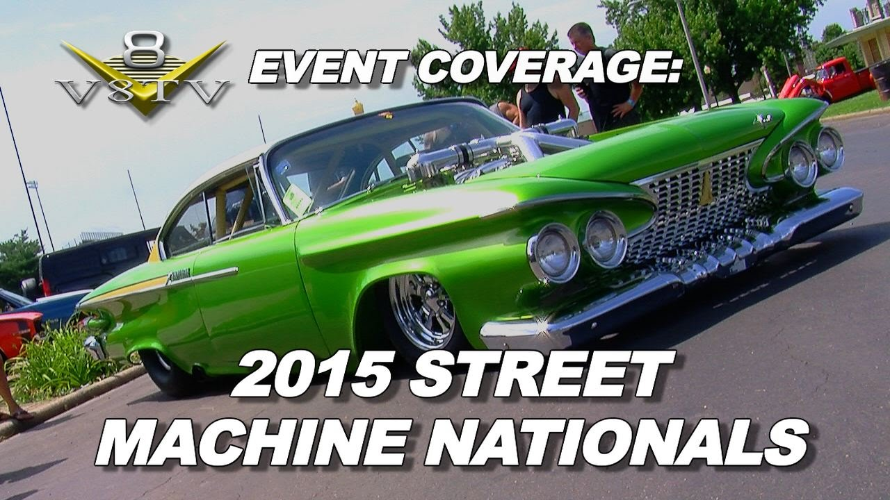 V8TV Coverage from the Street Machine Nationals