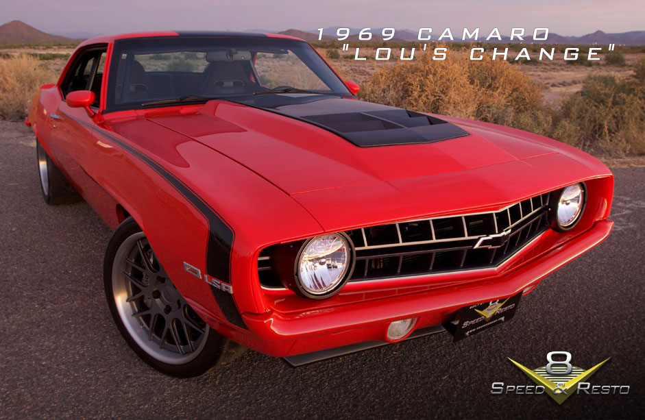 1969 Camaro Lous Change