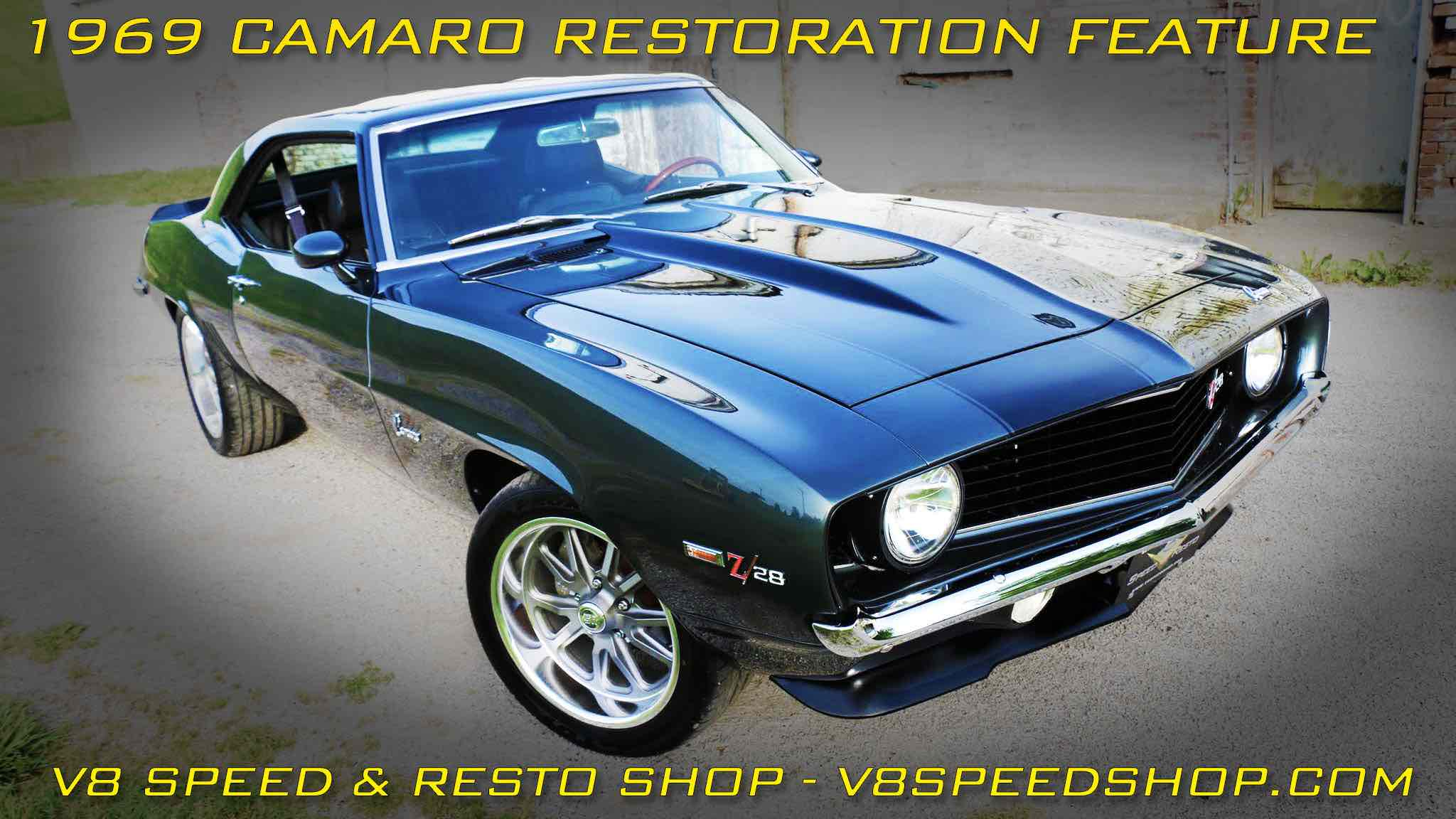 "1969 Camaro ""Carbon Flash"" Restoration At V8 Speed & Resto Shop"