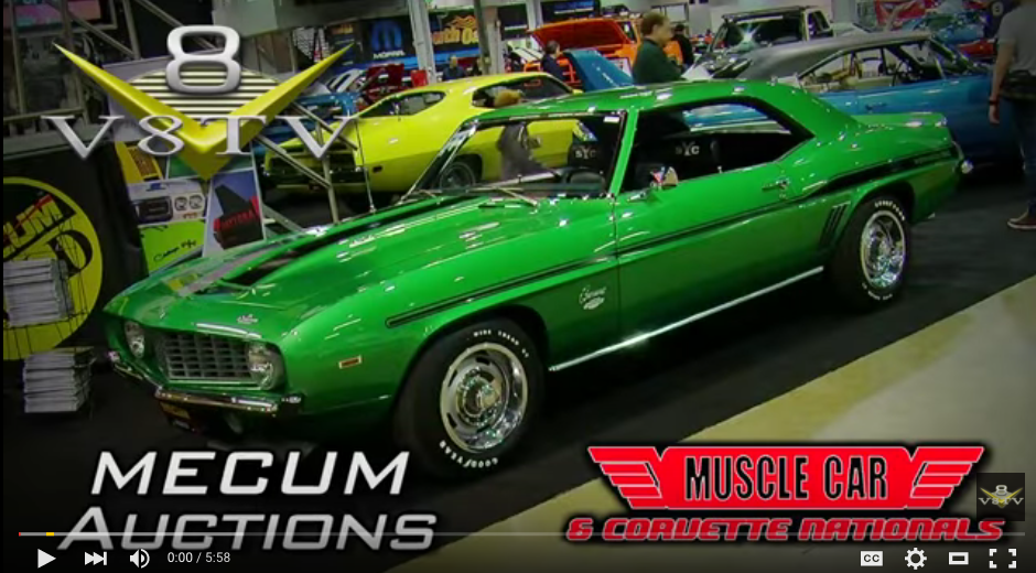 Mecum Auctions at 2015 Muscle Car and Corvette Nationals