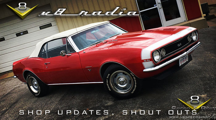 V8 Radio Podcast:  Shop Updates, Springtime Mods, Bullitt Mustang, Trivia, and More!