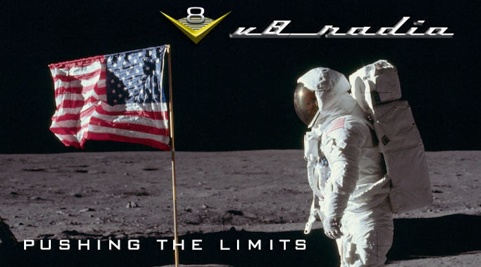 V8 Radio:  Cars On The Moon, V8 Speed & Resto Shop Updates, Trivia, and MORE!