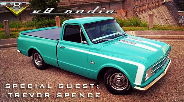 V8 Radio Podcast: Trevor Spence from the V8 Speed and Resto Shop, Trivia, and More!