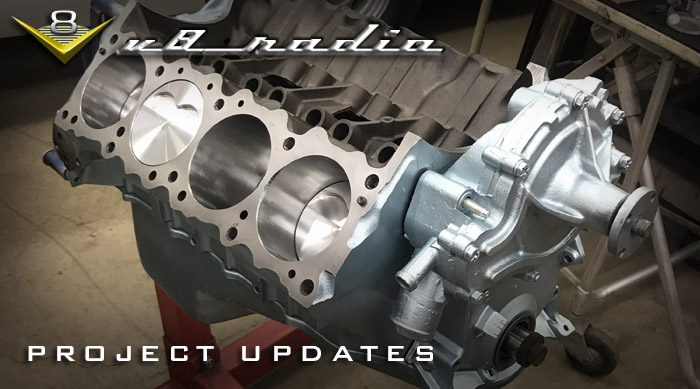 Car Project Updates with Mike and Kevin on the V8 Radio Podcast