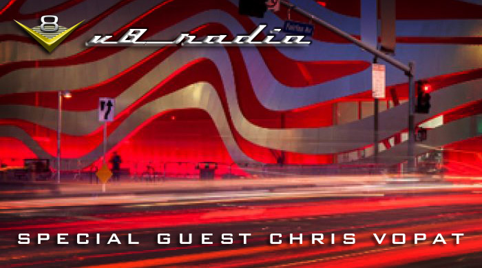 Special Guest Chris Vopat chats about Dan Gurney, the Petersen Museum, and More on the V8 Radio Podcast