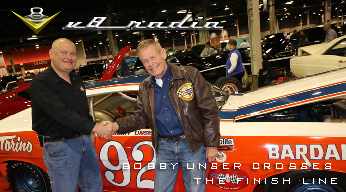 Bobby Unser Crosses The Finish Line, Qs New Ride, Power Tour Plans, Automotive Trivia, and More!