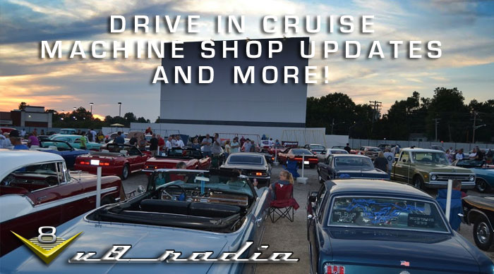 V8 Radio Drive In Cruise