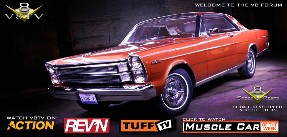 1966 Ford Galaxie 7-Litre Complete Restoration at V8 Speed & Resto