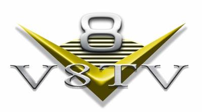 V8TV Logo