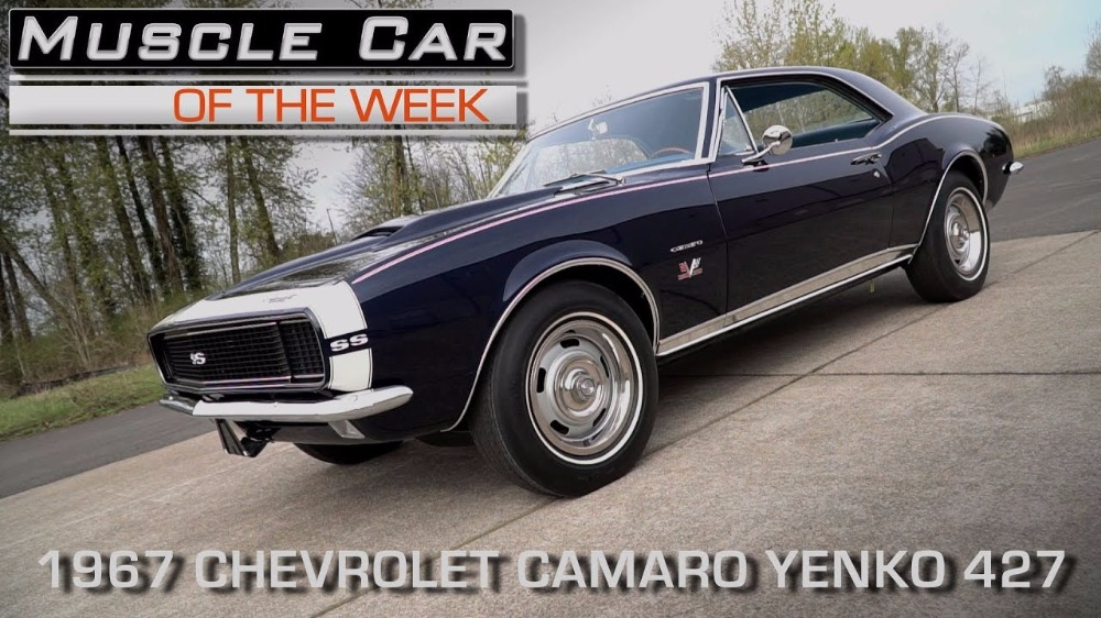 1967 Yenko 427 Camaro:Muscle Car Of The Week Video Episode #199