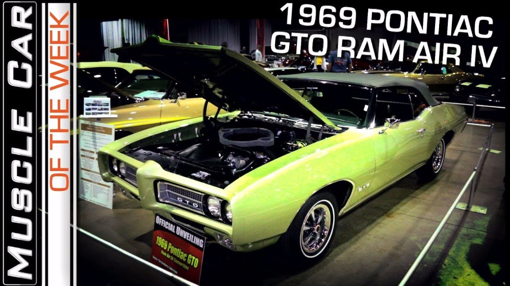 1969 Pontiac GTO Ram Air IV 4-Speed Convertible: Muscle Car Of The Week Video Episode 231 V8TV