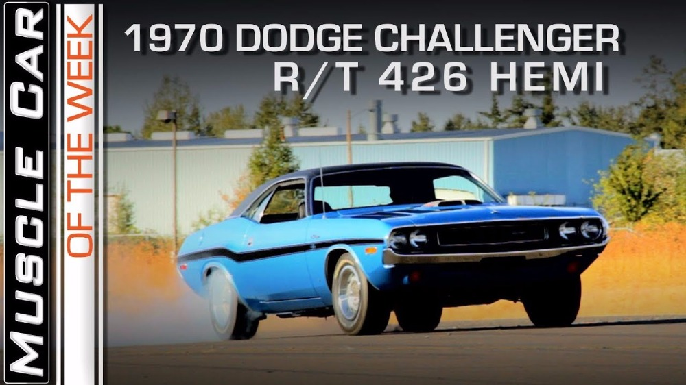 1970 Dodge Challenger R/T 426 Hemi: Muscle Car Of The Week Video Episode 232 V8TV