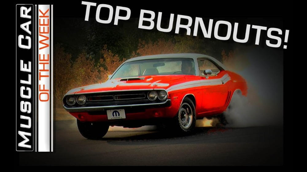 5 Top Burnouts: Muscle Car Of The Week Video Episode 235 V8TV