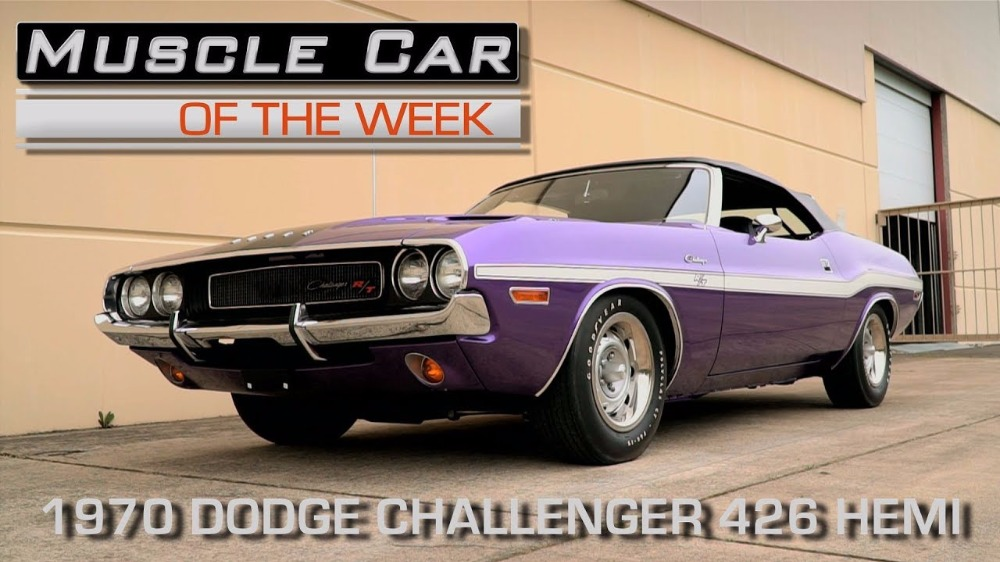 1970 Dodge Challenger 426 Hemi Convertible: Muscle Car Of The Week Video Episode #207