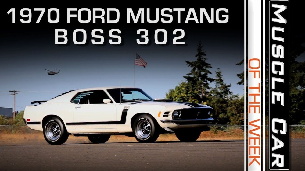 1970 Ford Mustang BOSS 302: Muscle Car Of The Week Video Episode 234 V8TV