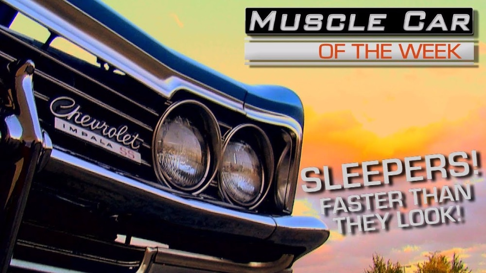 Sleepers! Muscle Cars That Are Faster Than They Look! Muscle Car Of The Week Video Episode 215 V8TV